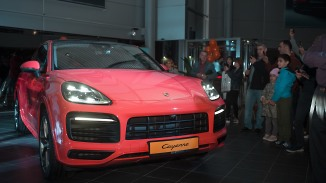 Презентация New Cayenne Coupe